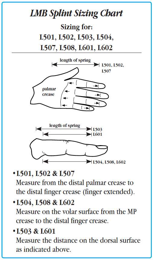 LMB Spring Finger Extension Assist | North Coast Medical