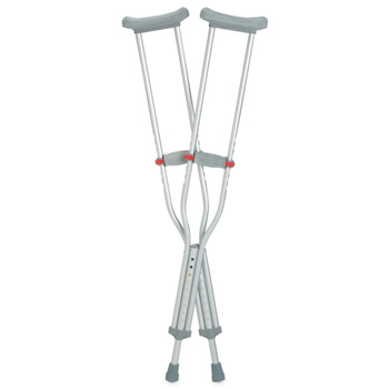 Red Dot Crutches Adult