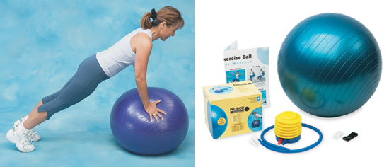 Norco Safety Exercise Ball, 75cm