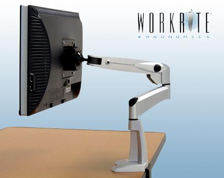WorkRite Flat Screen Monitor Swing Arm