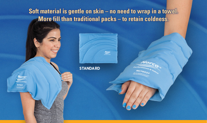 Norco Soft Cold Packs Standard Size