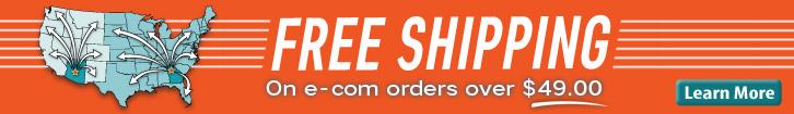 NCM Free Shipping